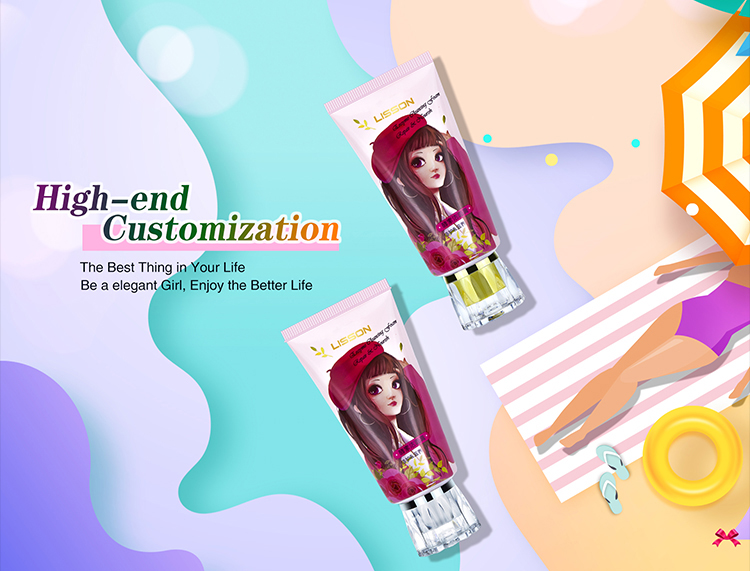 Body Lotion Cosmetic Tube