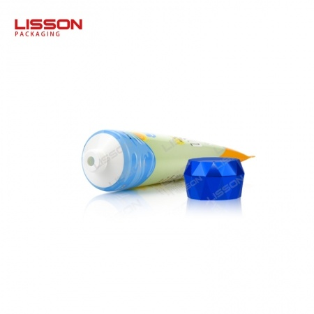 Sunscreen Cream Squeeze Tube